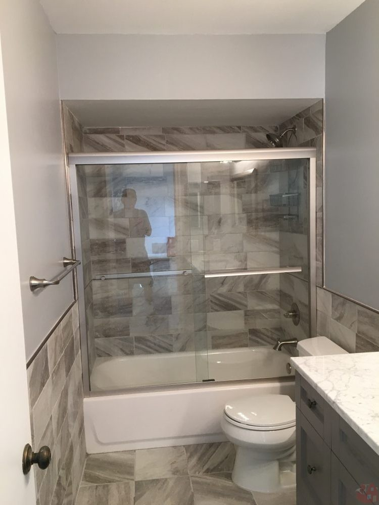 new shower and sink u2013 bathroom remodel in boca raton